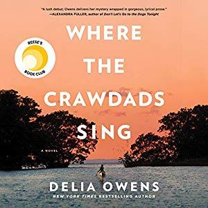 delia owens where the crawdads sing audio book